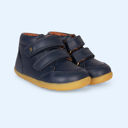 Navy Bobux Timber Step-Up Boot