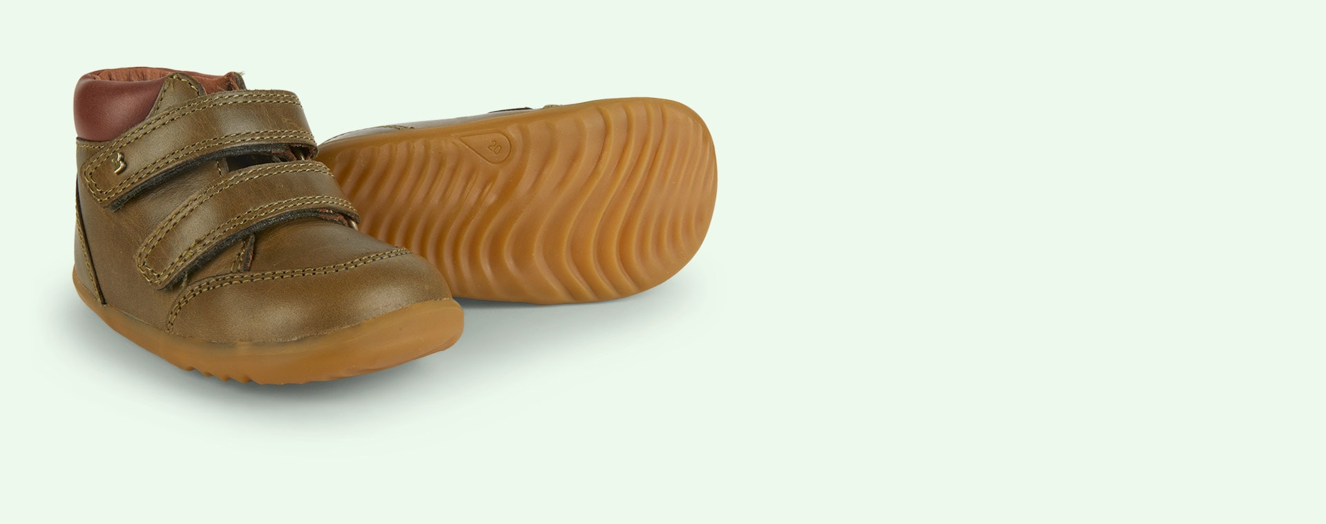 New Olive Bobux Timber Step-Up Boot
