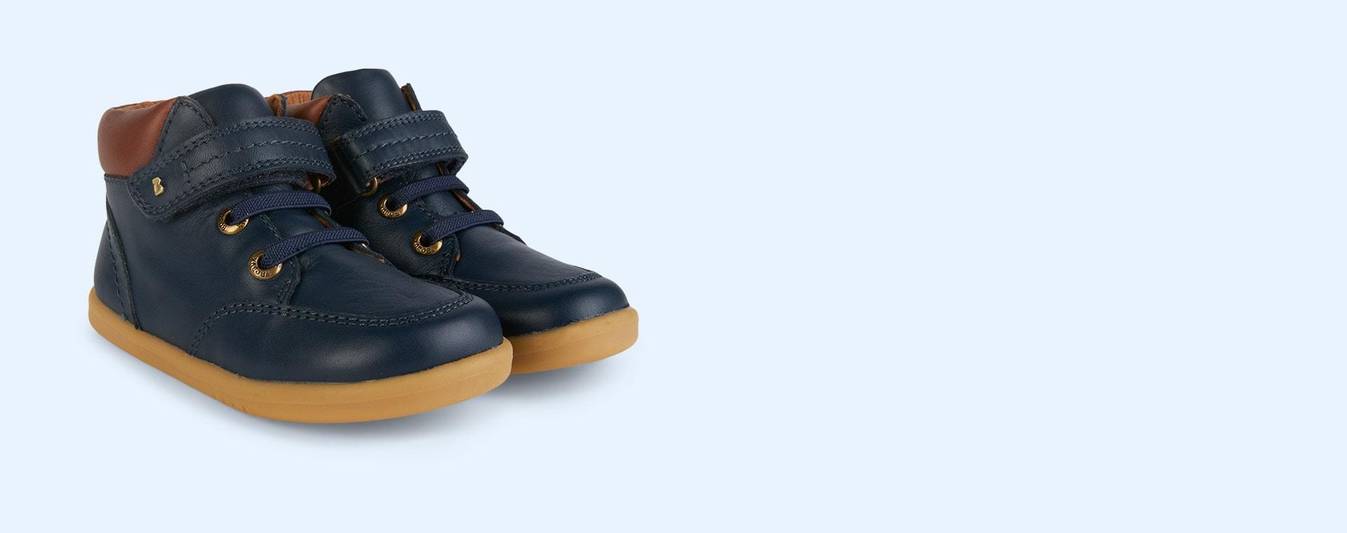New Navy Bobux Timber I-Walk Boot