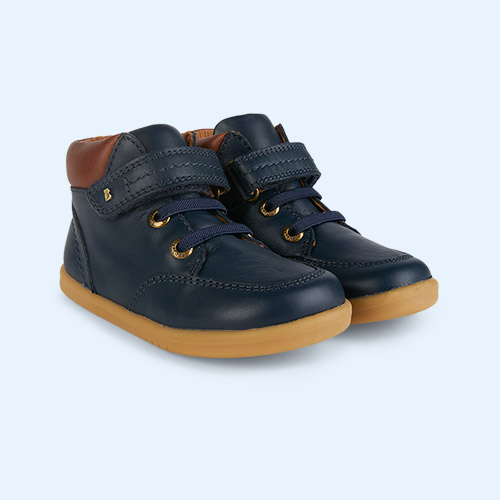 New Navy Bobux Timber I-Walk Boot