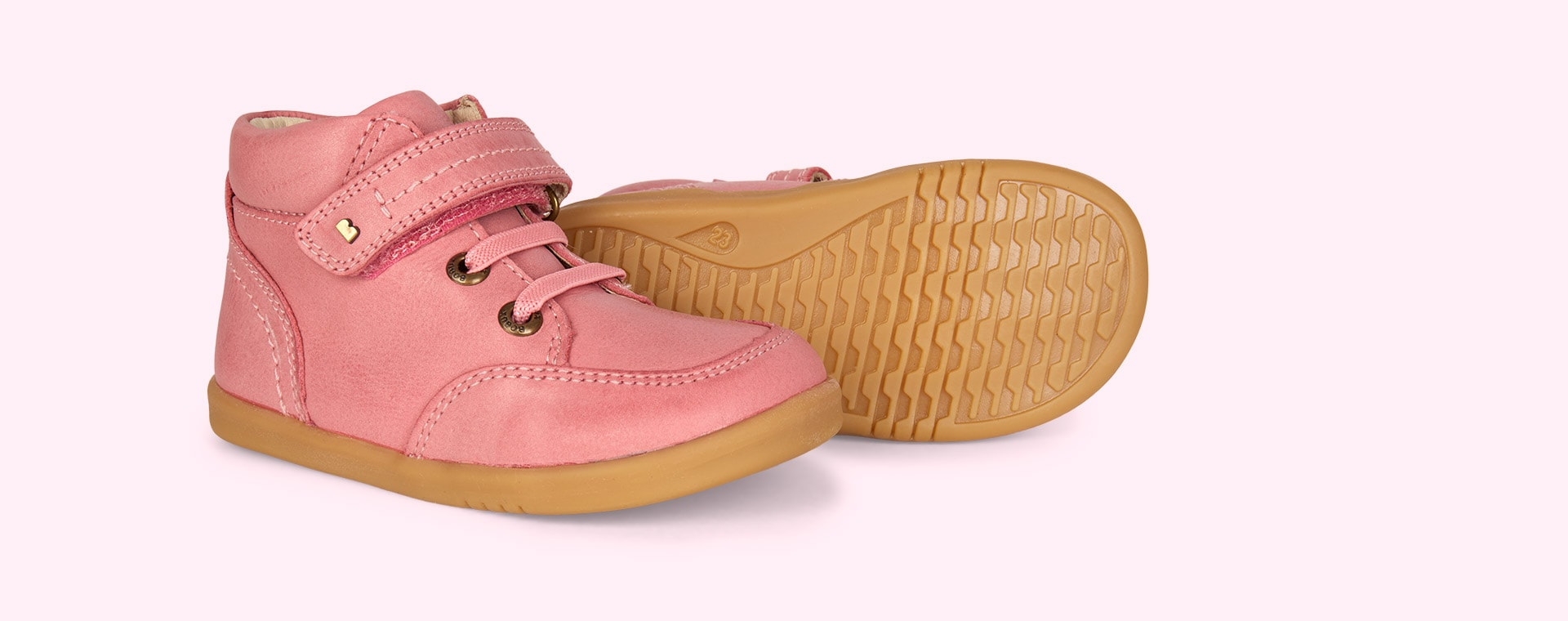 Vintage Rose Bobux Timber I-Walk Boot