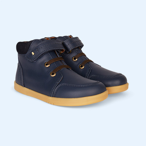 Navy Bobux Timber Kid+ Boot