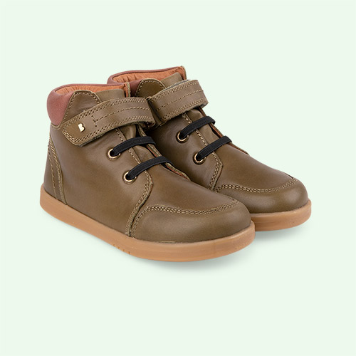 Olive Bobux Timber Kid+ Boot