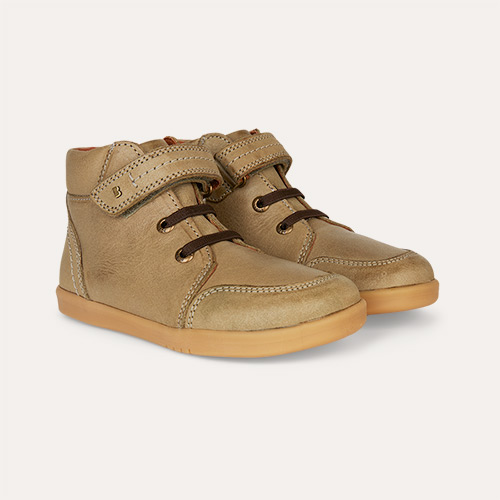Vintage Olive Bobux Timber Kid+ Boot