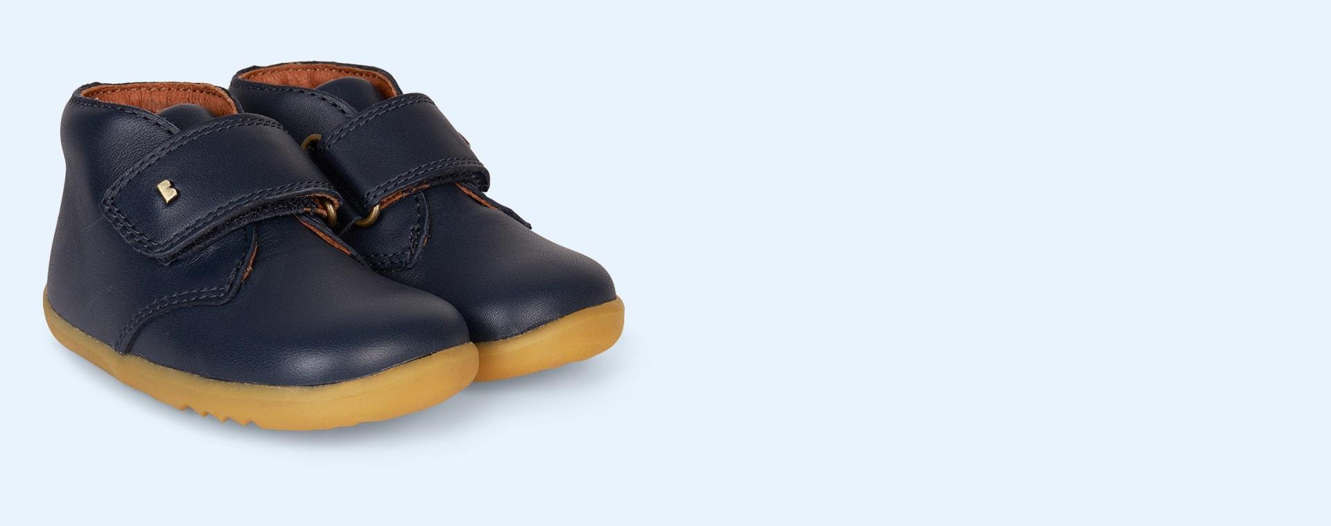 Navy Bobux Desert Step-Up Boot