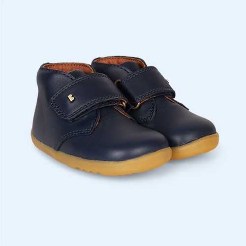 Navy Bobux Desert Step-Up Boot