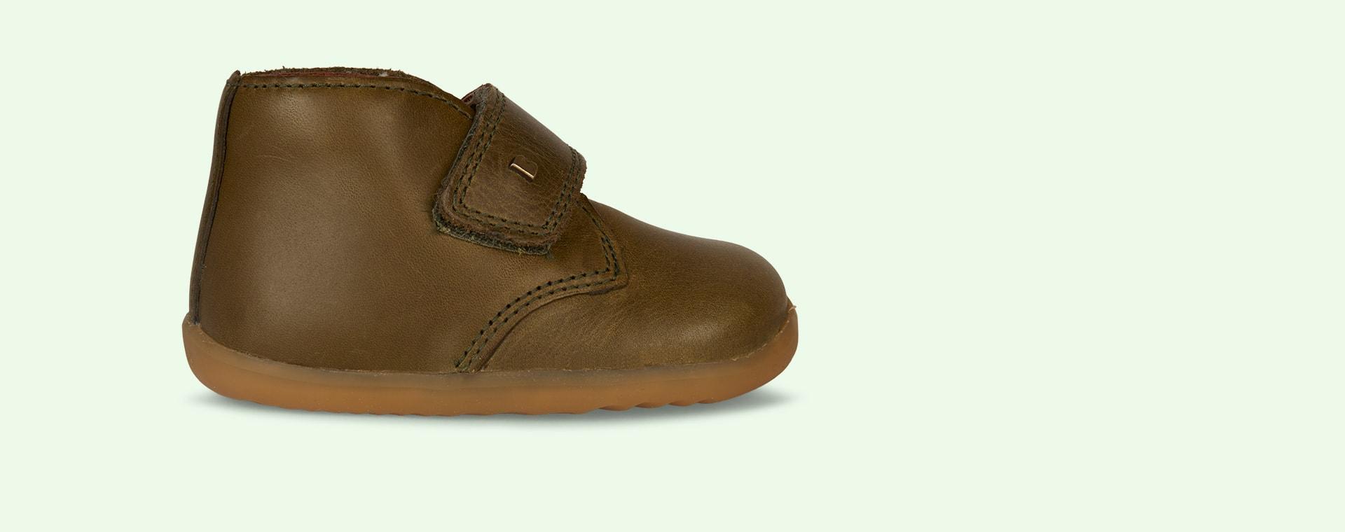 Olive Bobux Desert Step-Up Boot