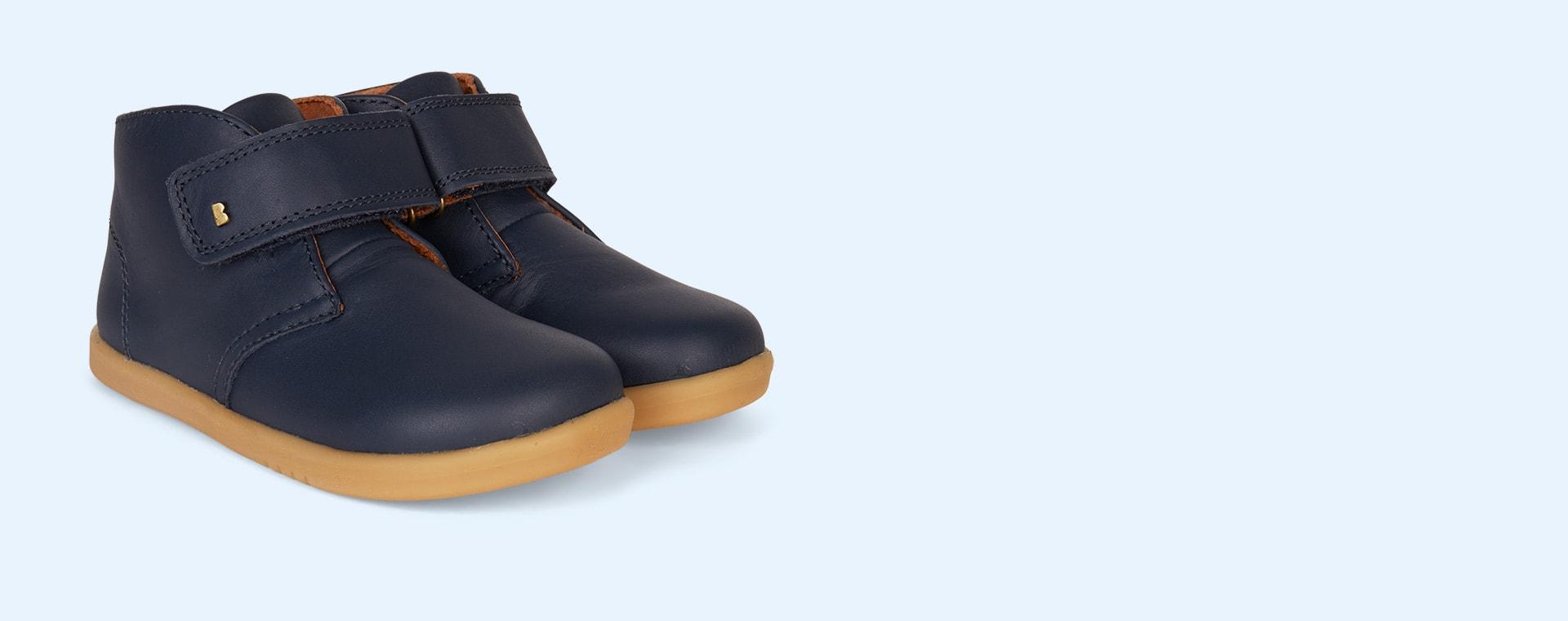 Navy Bobux Desert Kid+ Boot