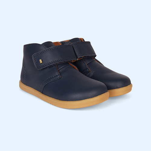 Navy Bobux Desert Kid+ Boot