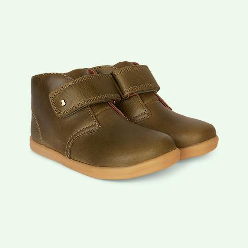Olive Bobux Desert Kid+ Boot
