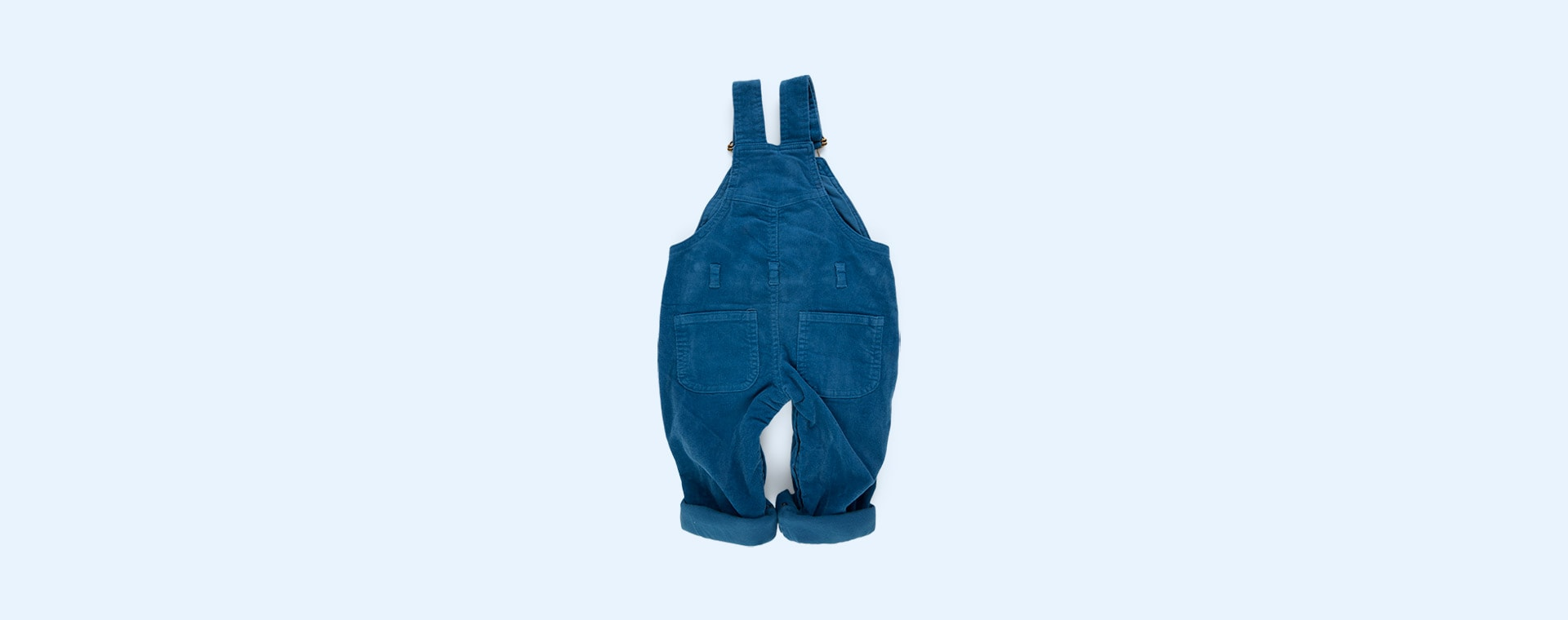 Nordic Blue Dotty Dungarees Corduroy Dungarees