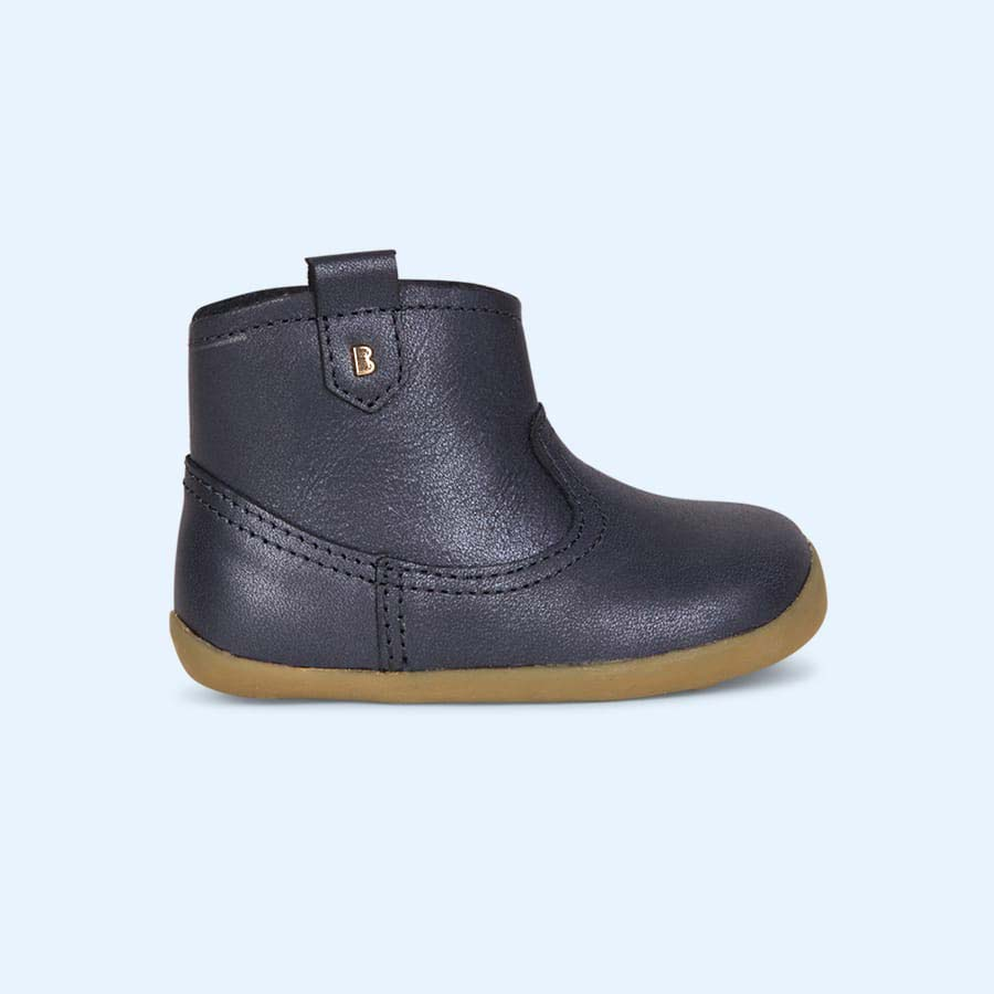 Blue Bobux Vale Step-Up Boot
