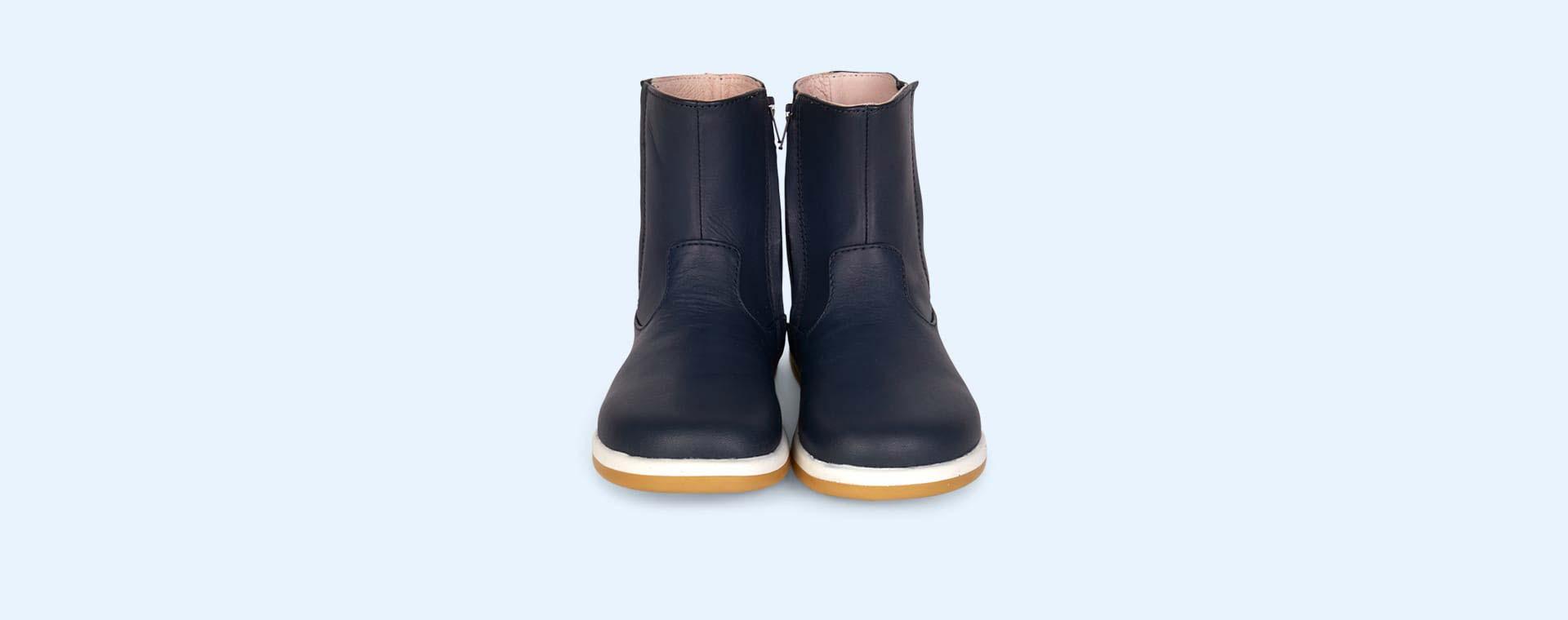 Navy Bobux Shire Kid+ Boot