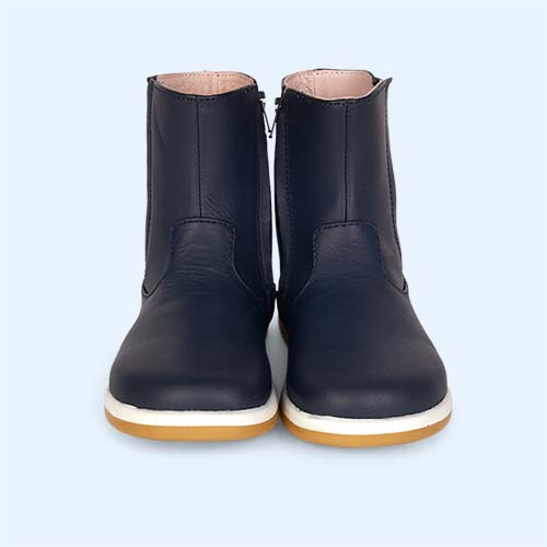 Navy Bobux Shire Kid+ Boot