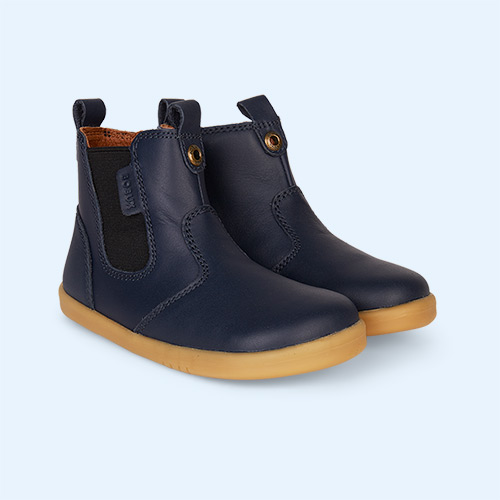 Navy Bobux Jodphur I-Walk Boot