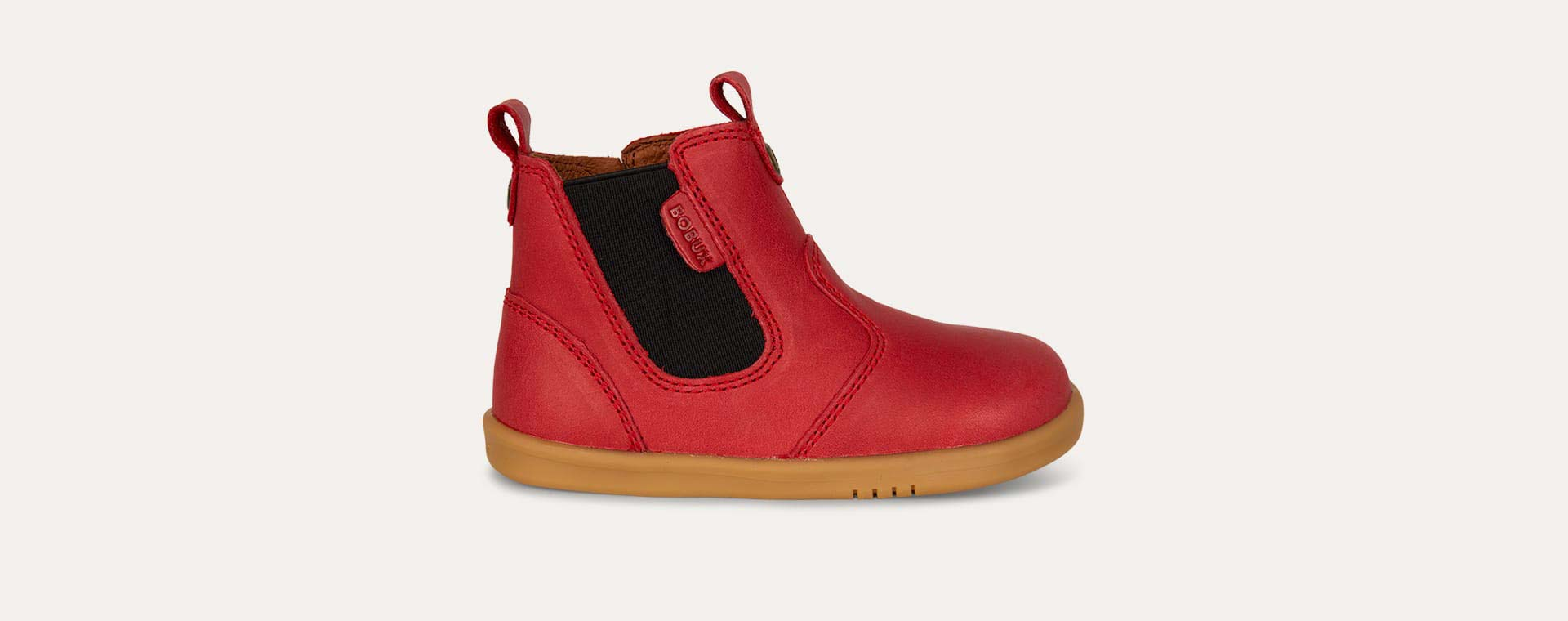 Red Bobux Jodphur Kid+ Boot