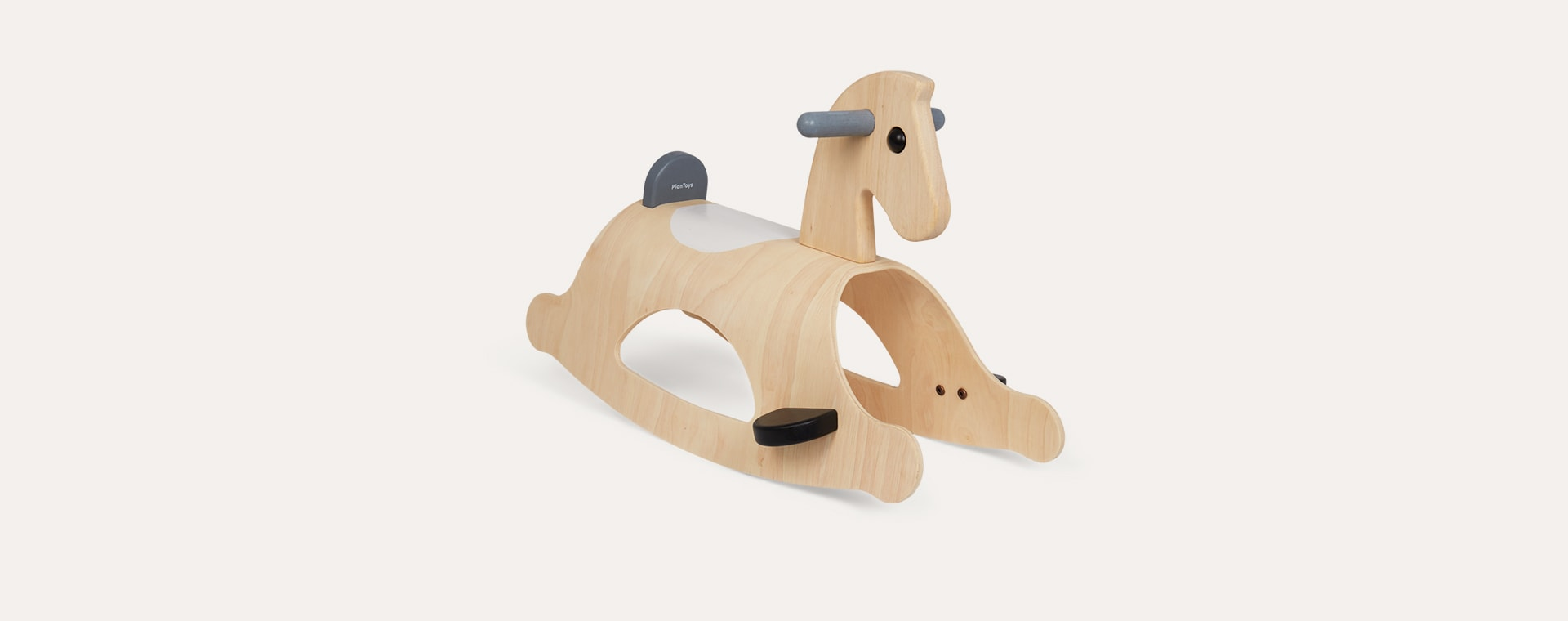 Monochrome Plan Toys Palomino Rocking Horse