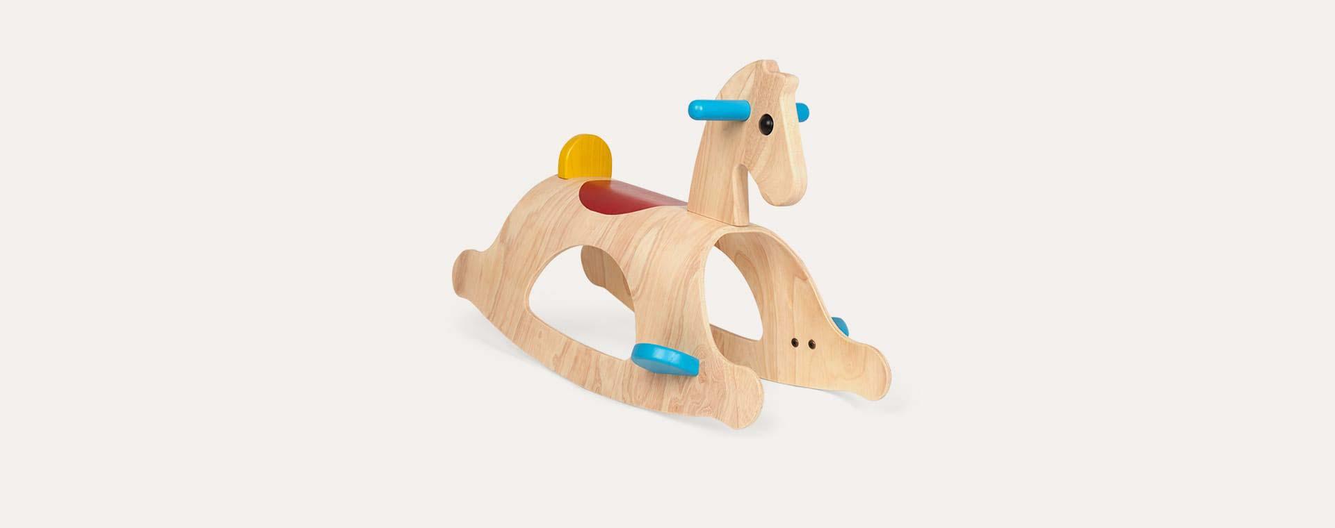 Wood Plan Toys Palomino Rocking Horse