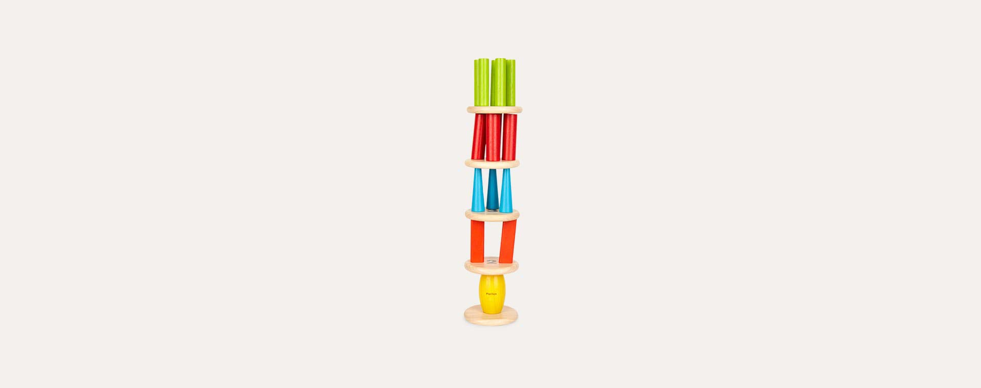 Brights Plan Toys Tower Tumbling Game