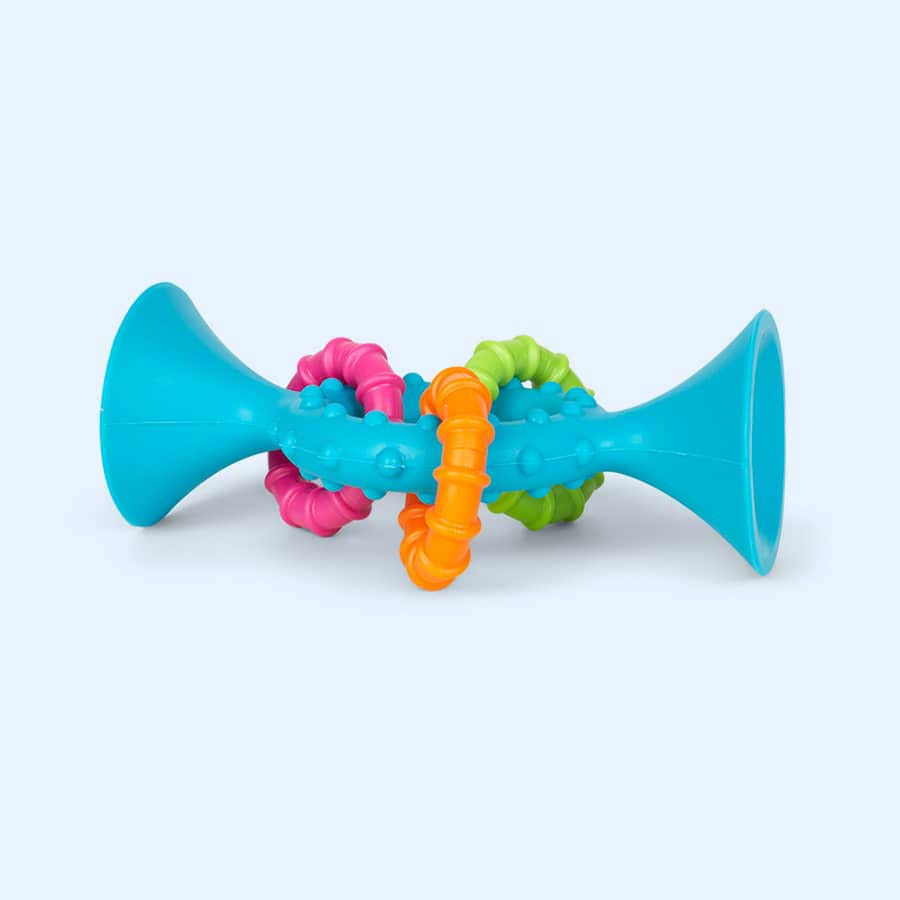 Teal Fat Brain Toys PipSquigz Loops