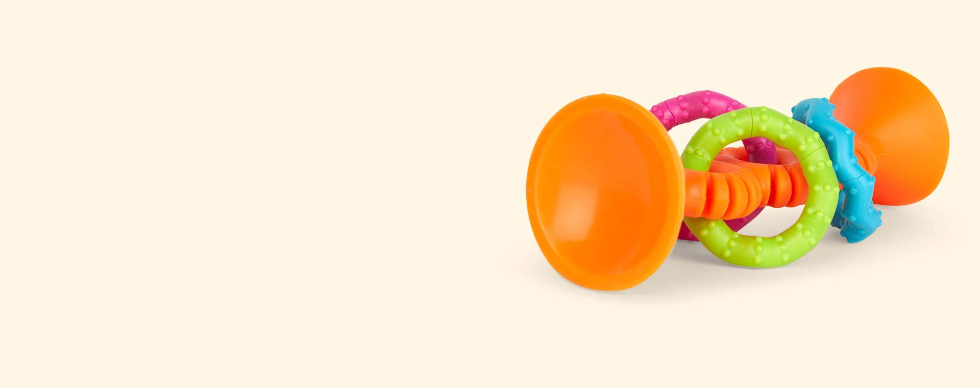 Orange Fat Brain Toys PipSquigz Loops