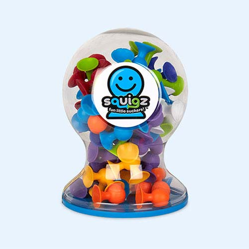 Multi Fat Brain Toys Squigz Deluxe Set - 50 pieces