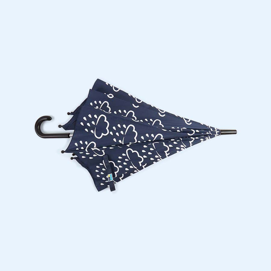 Navy Grass & Air Colour Changing Umbrella