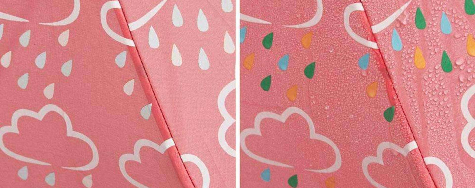 Coral Grass & Air Colour Changing Umbrella
