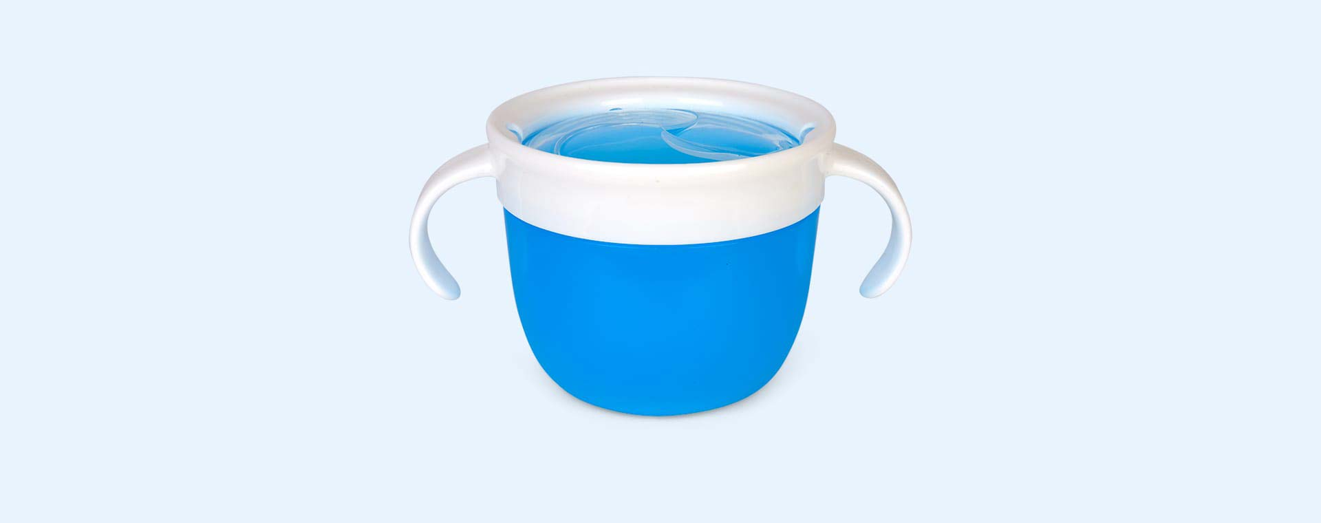 Blue Munchkin Click Lock Deluxe Snack Catcher