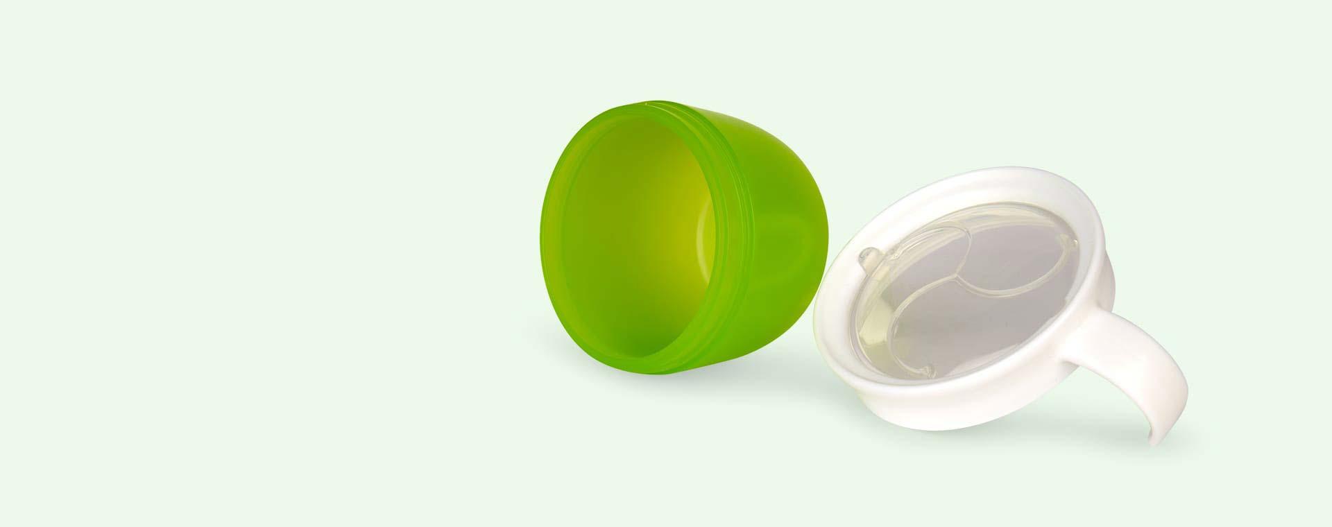 Green Munchkin Click Lock Deluxe Snack Catcher