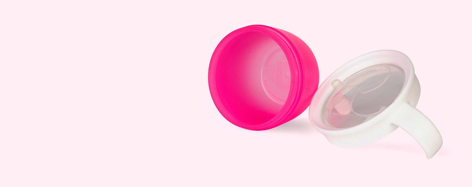 Pink Munchkin Click Lock Deluxe Snack Catcher