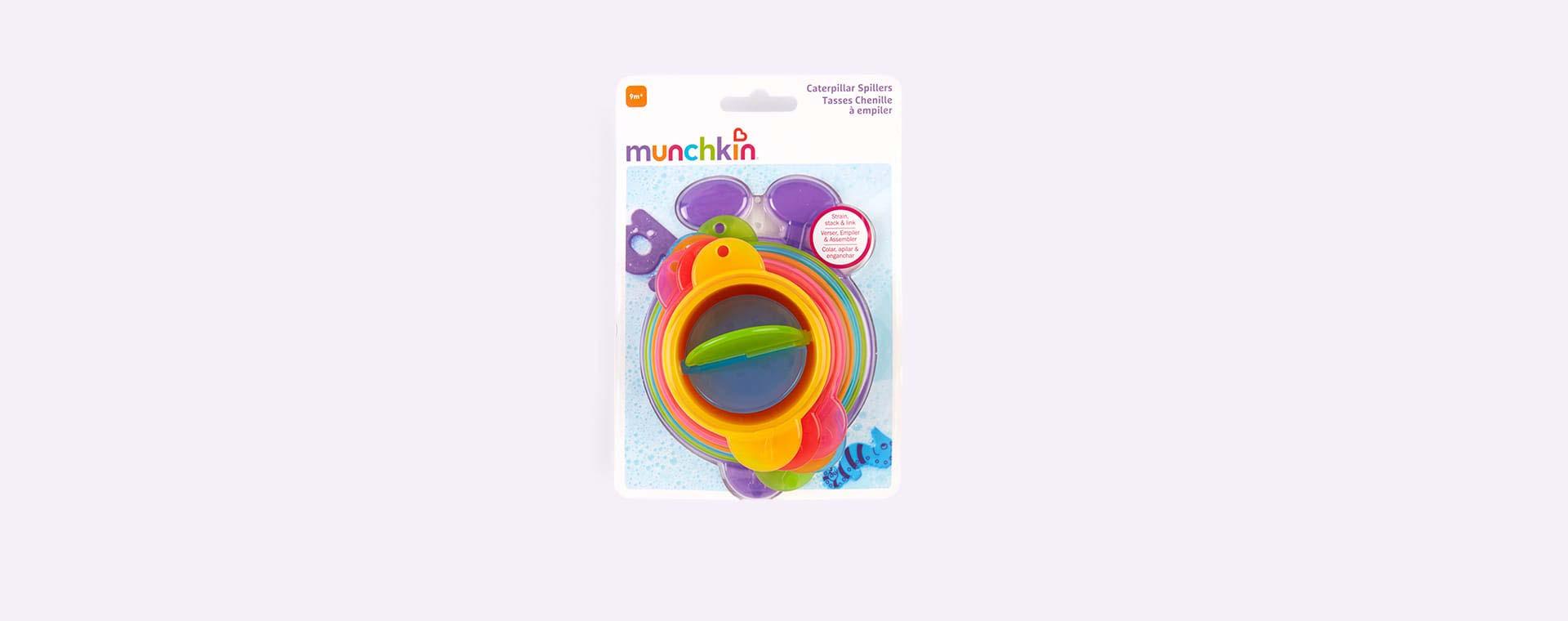 Purple Munchkin Caterpillar Spillers - 7 Pack