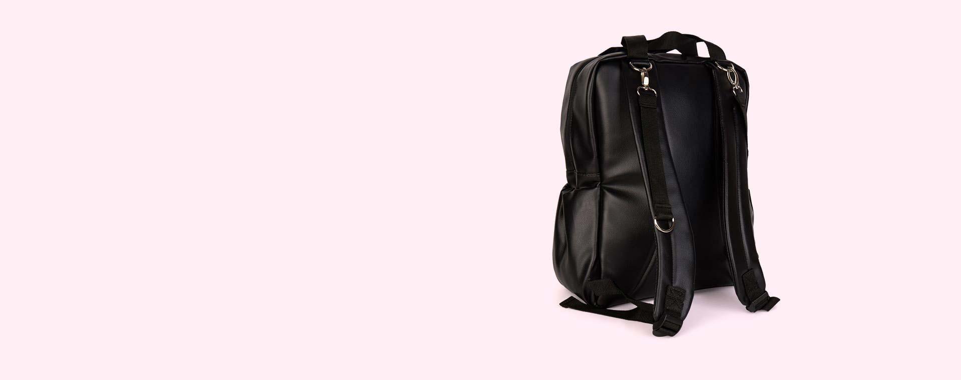 Black Toosh Bear Changing Backpack
