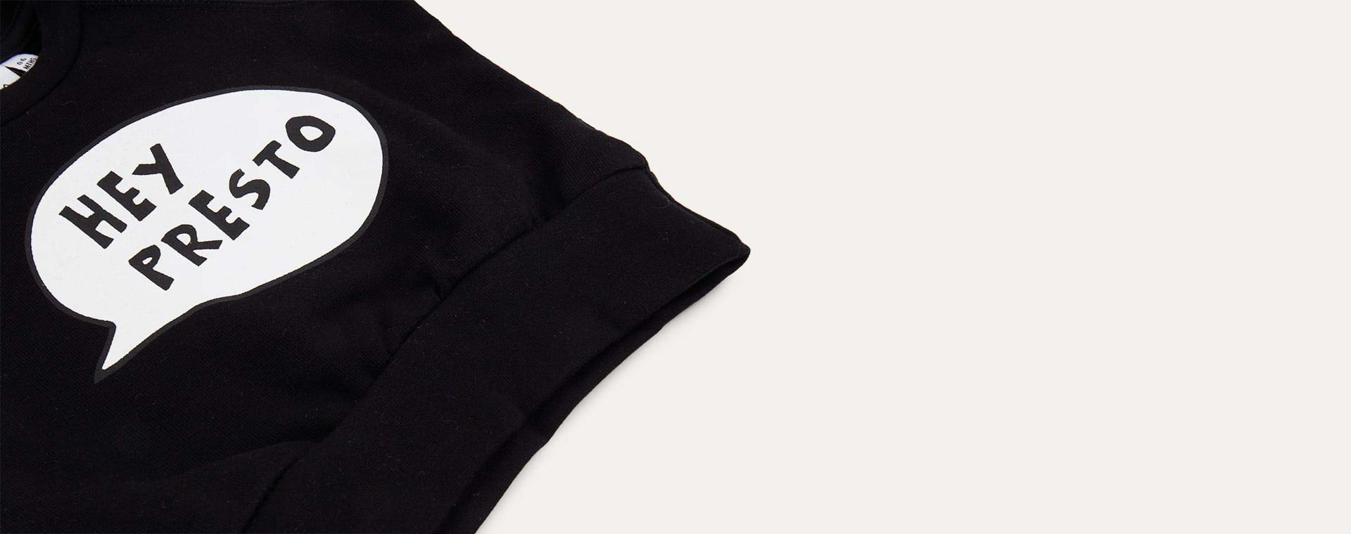 Black tobias & the bear Hey Presto Sweatshirt