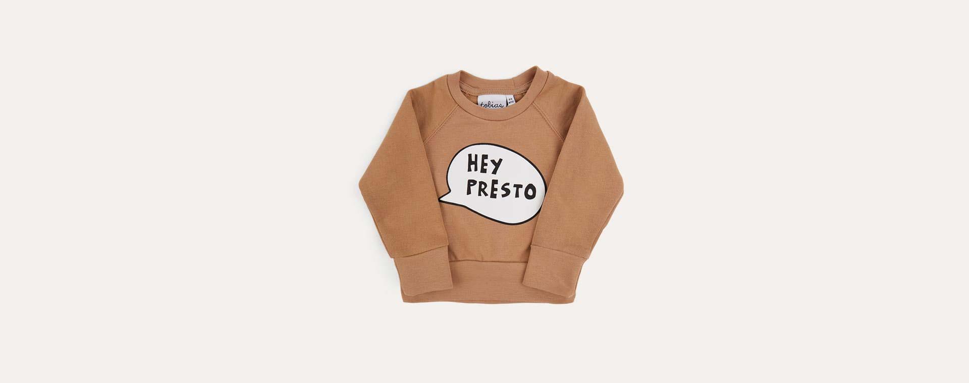 Neutral tobias & the bear Hey Presto Sweatshirt