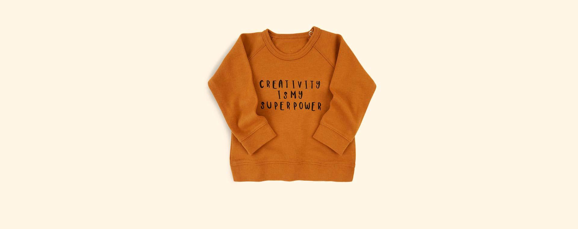 Spice Organic Zoo Creativity Sweatshirt