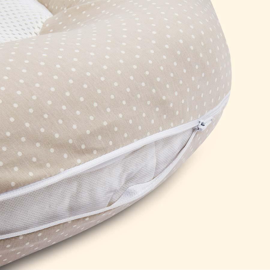 Mushroom PurFlo Breathable Baby Nest