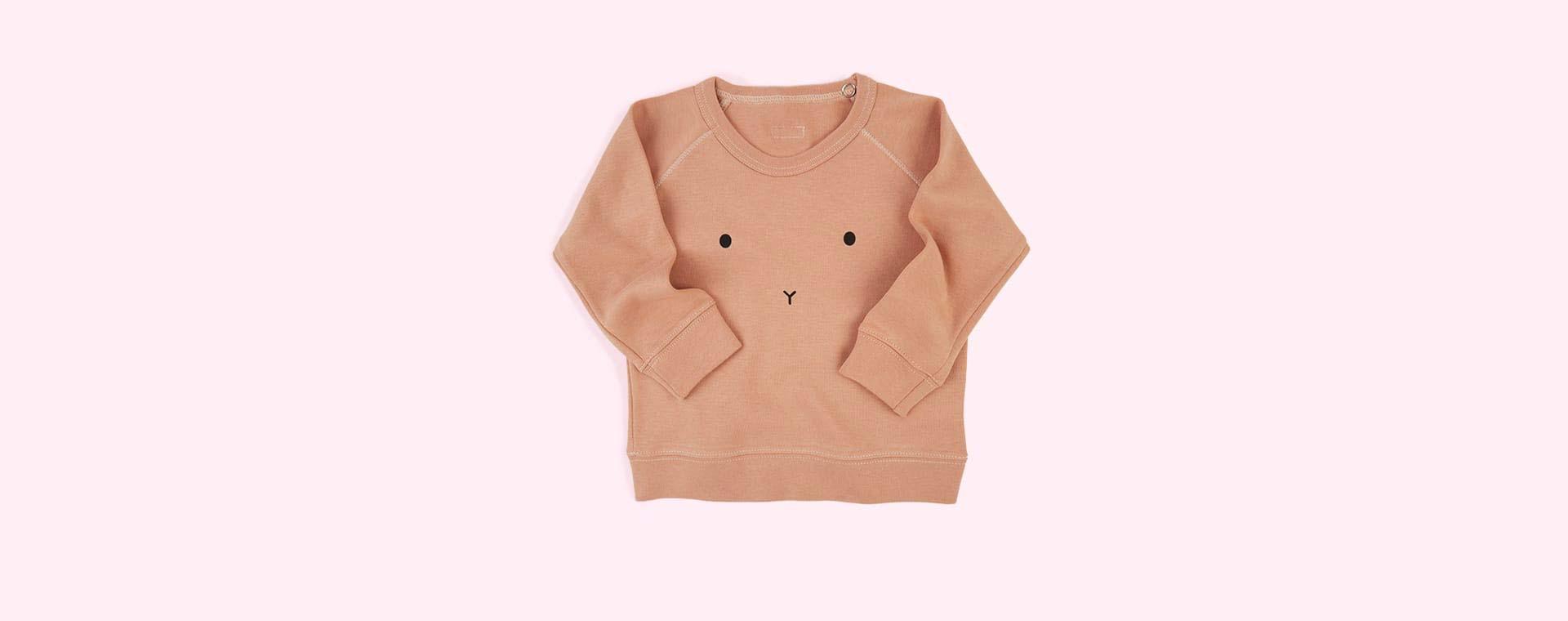 Clay Organic Zoo Bunny Sweatshirt
