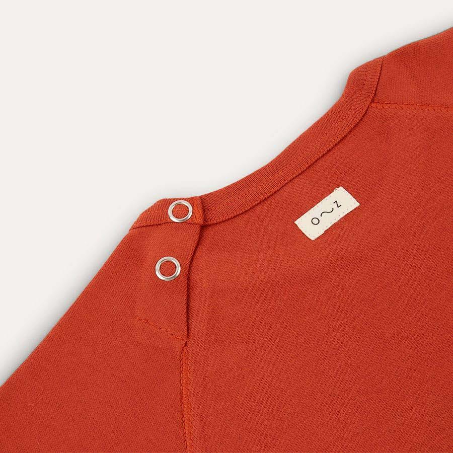 Rust Organic Zoo Bear Sweatshirt