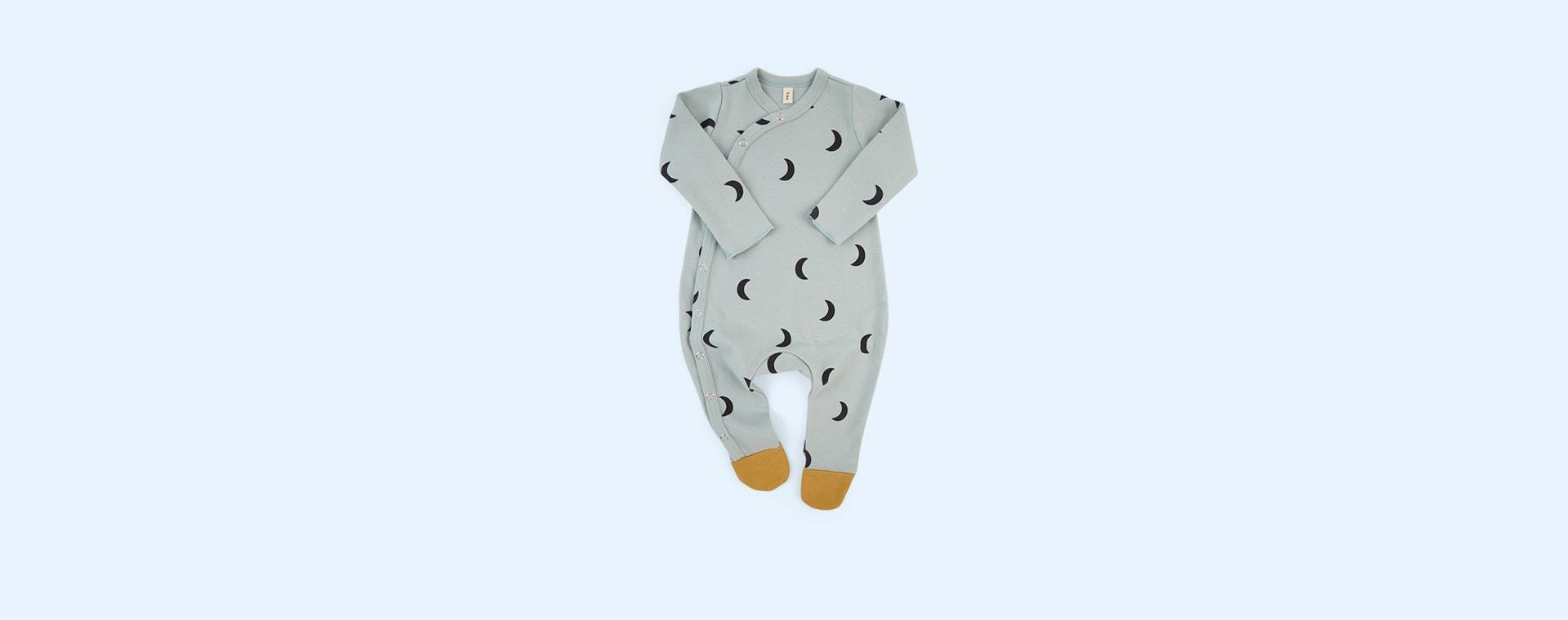 Midnight Cloud Organic Zoo Sleepsuit