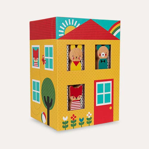 Multi Petit Collage Peek-a-boo House