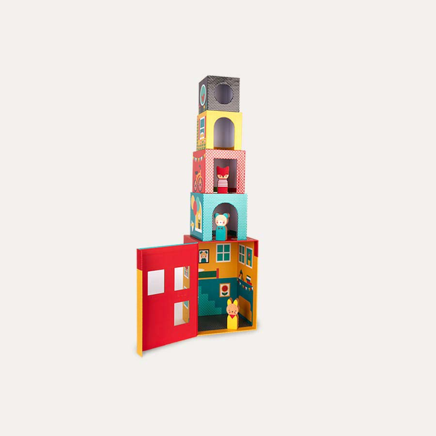 Multi Petit Collage Peek-a-boo House