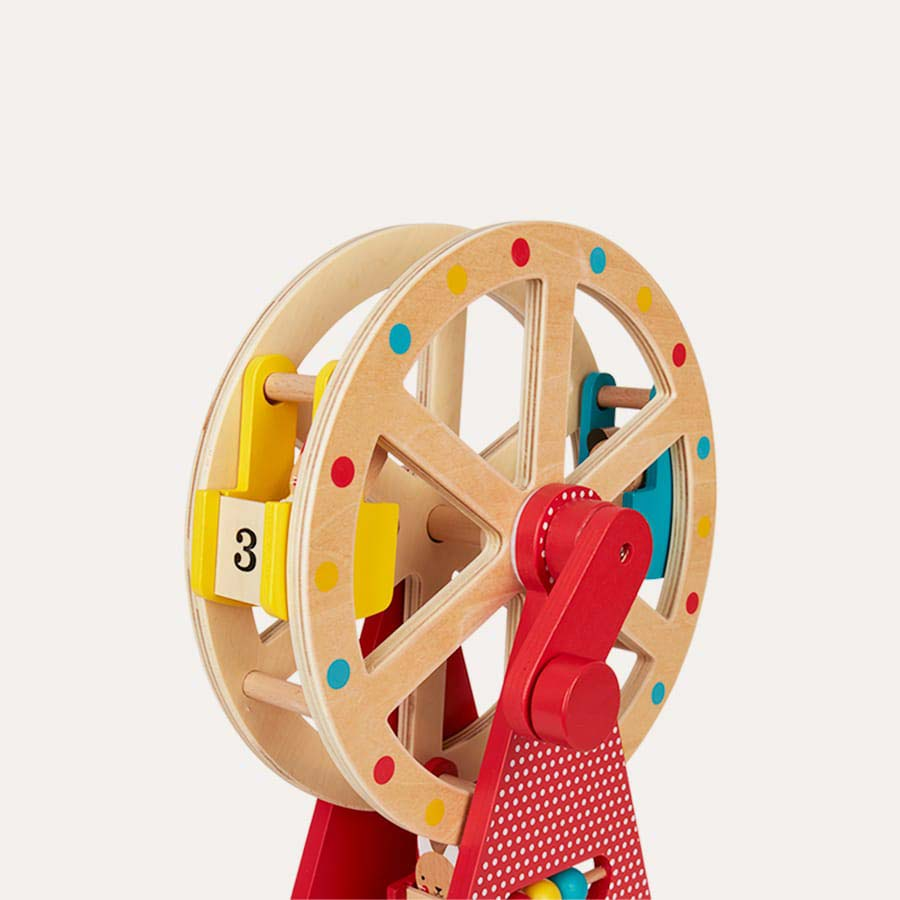 Wooden Petit Collage Wooden Ferris Wheel
