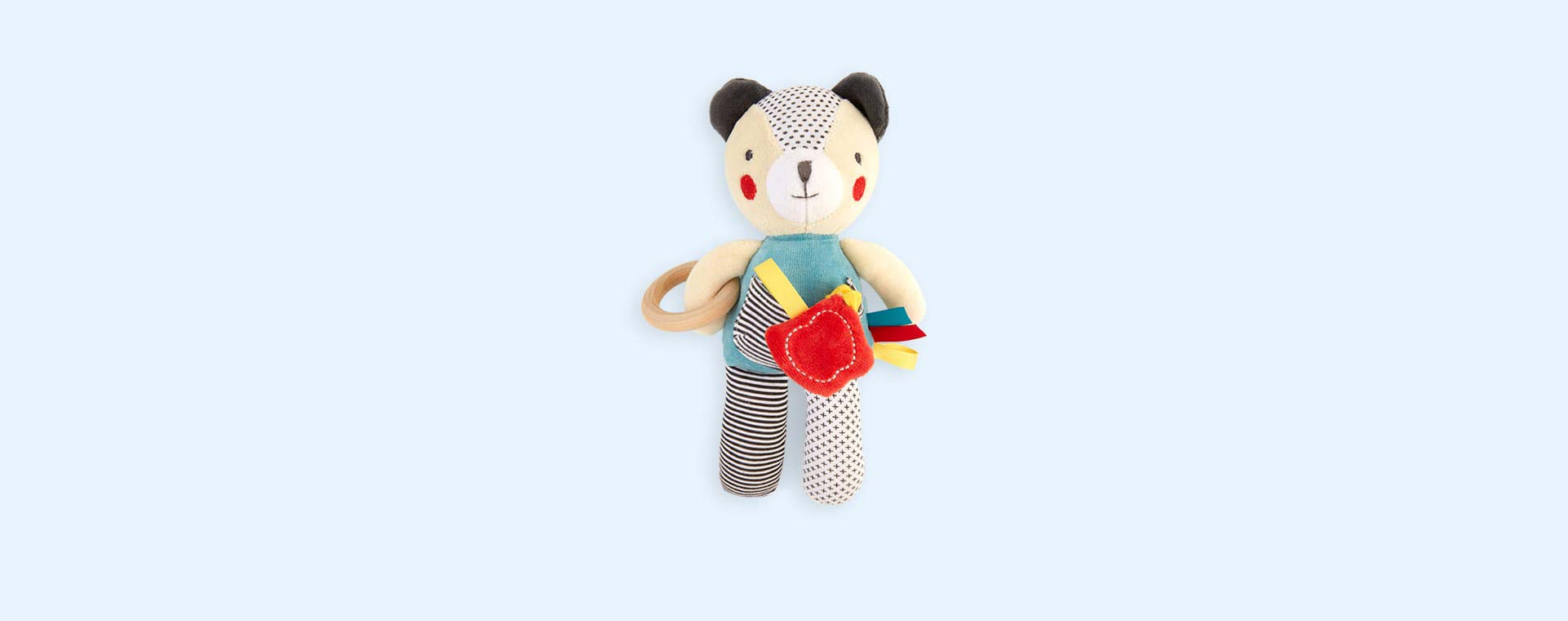 Oaty Bear Petit Collage Organic Activity Toy