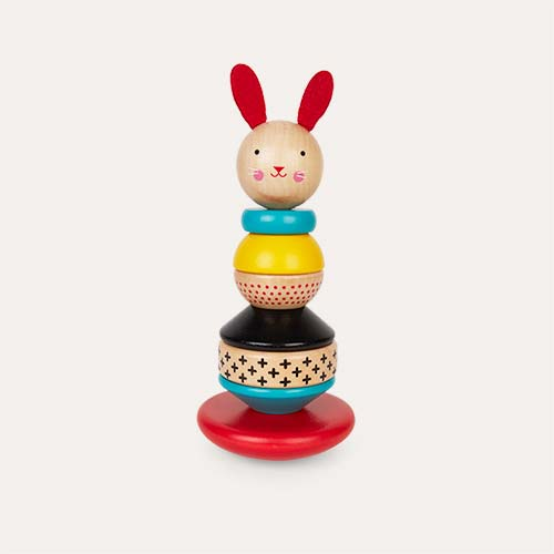 Wooden Petit Collage Wooden Stacking Toy