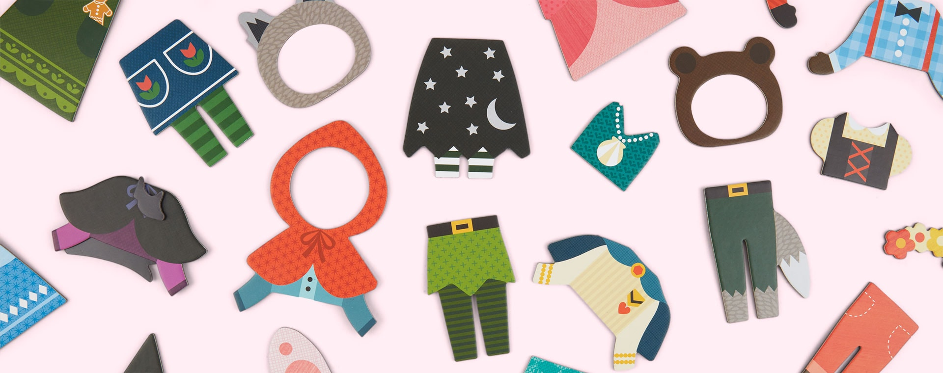 Best Friends Petit Collage Magnetic Dress Up Kit