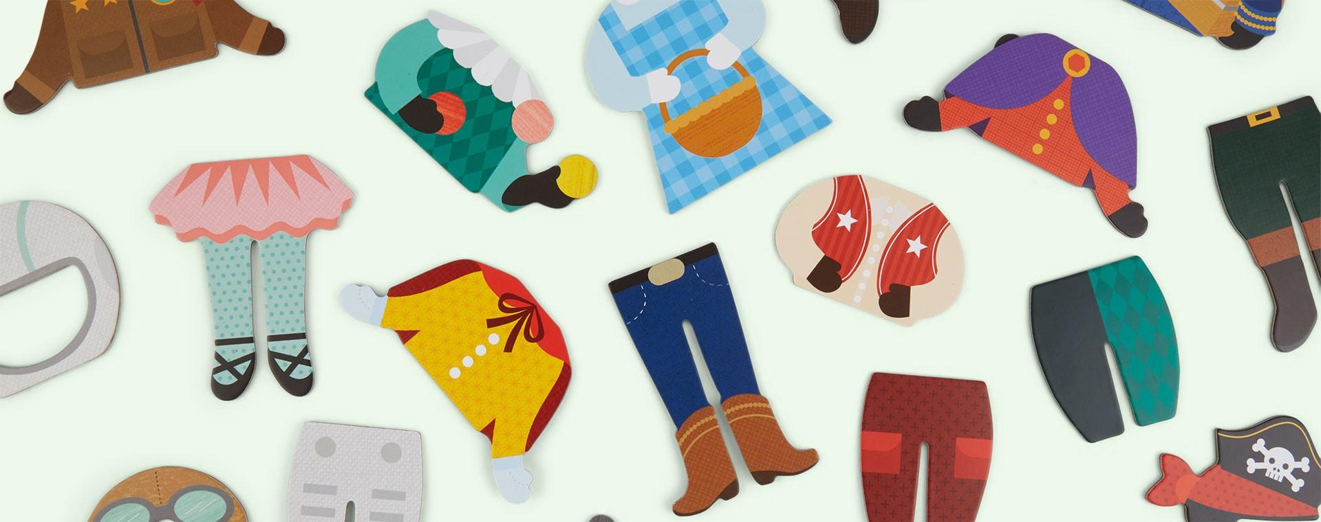 Make Believe Petit Collage Magnetic Dress Up Kit