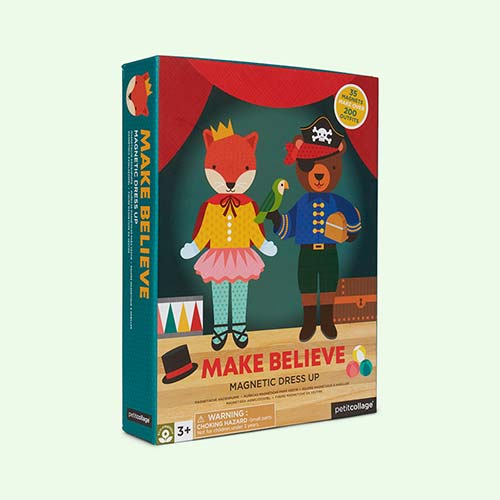 Make Believe Petit Collage Magnetic Dress Up Kit
