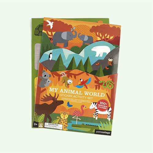 Animal World Petit Collage Sticker Activity Set