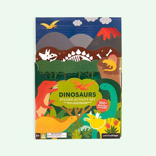 Dinosaur Petit Collage Sticker Activity Set